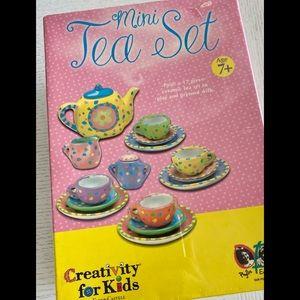 Mini Tea Set - Creativity for Kids